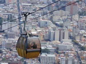 Cable car, Argentina, Salta,